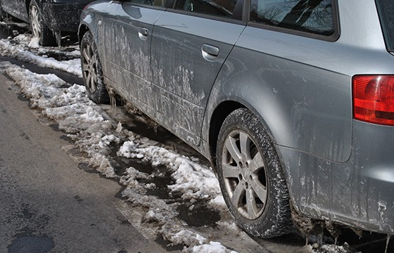 Road Salt is bad for cars
